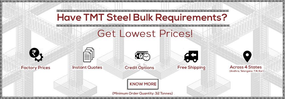 Buy TMT Steel in Bulk
