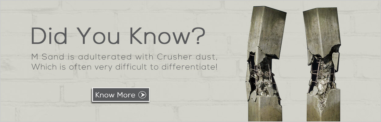 Msand and crusher dust difference - Aac blocks vs clay bricks ...