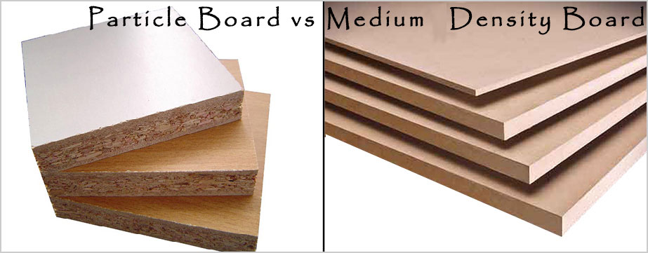 Particle board vs. Medium Density Fibreboard (MDF)