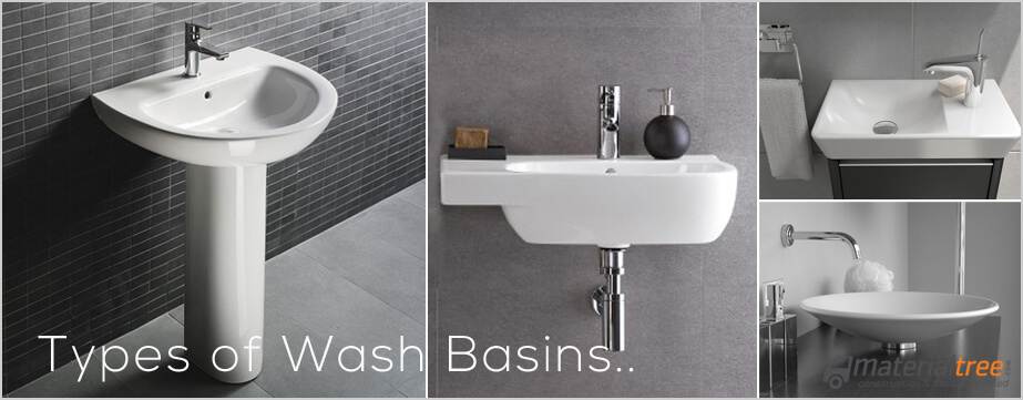 Types Of Wash Basin Types Of Bathroom Sinks