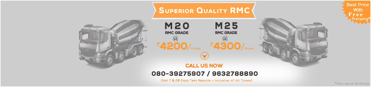 Ready Mix Concrete Offer