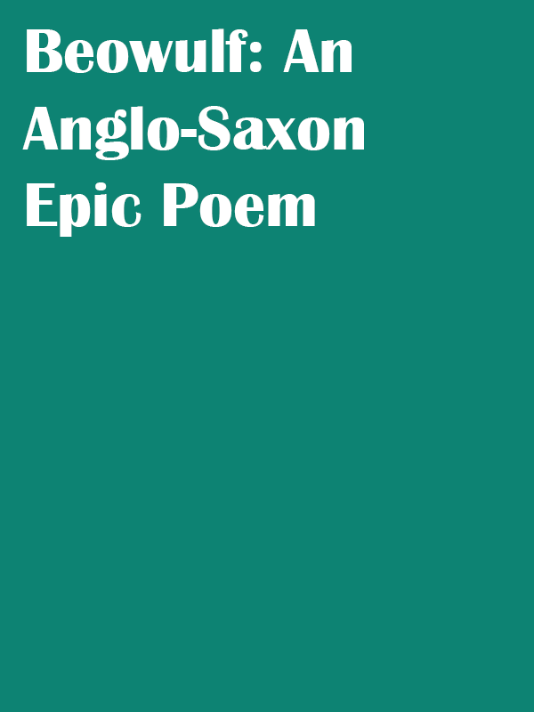 Beowulf-An-Anglo-Saxon-Epic-Poem