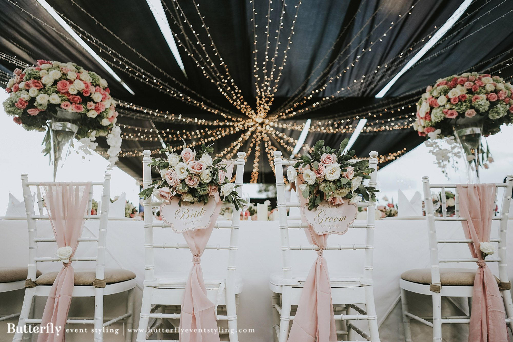 Wedding Decoration Idea Butterfly Event Styling