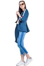 Blue Cream Tie Up Blouse 303-prd_14112061828400_1496952854.jpg