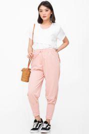 Peach Tie Up Jogger Pants 25-prd_16903061047000_1526393097.jpg