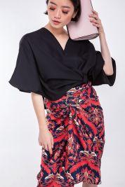 Orange Ikat Batik Skirt 20-prd_17372065543500_1537157856.jpg