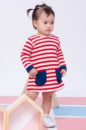 Pocket Dress Red Stripe-prd_17419019745100_1536937391.jpg