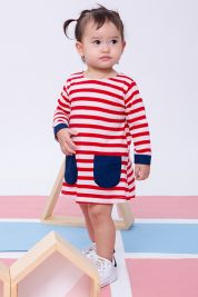 Pocket Dress Red Stripe-prd_17419075228200_1536937394.jpg