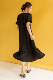 Ruffle Hem Maxi Dress Black-prd_17797001928500_1563799544.jpg