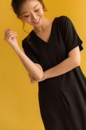 Ruffle Hem Maxi Dress Black-prd_17797038882400_1563799546.jpg