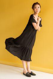 Ruffle Hem Maxi Dress Black-prd_17797043259500_1563799545.jpg