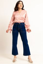Button Tie Up Sleeve Blouse Pink-prd_18062030041300_1573470900.jpg