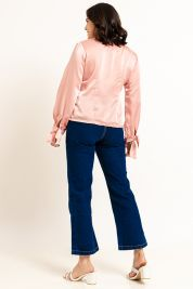 Button Tie Up Sleeve Blouse Pink-prd_18062098425600_1573470898.jpg
