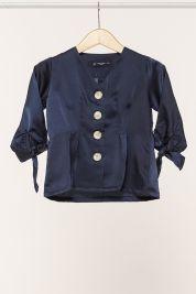 Mini Button Tie Up Sleeve Blouse Navy-prd_18067021718500_1565964888.jpg