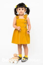 Mini Bow Strap Dress Mustard-prd_18143048336200_1568384135.jpg