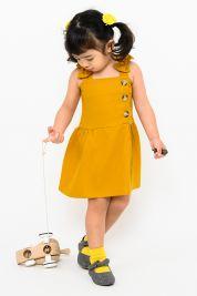Mini Bow Strap Dress Mustard-prd_18143073974400_1568384133.jpg