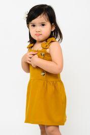 Mini Bow Strap Dress Mustard-prd_18143075291600_1568384131.jpg