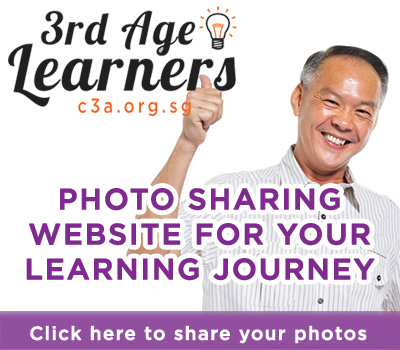 3rd Age Learners photo sharing website