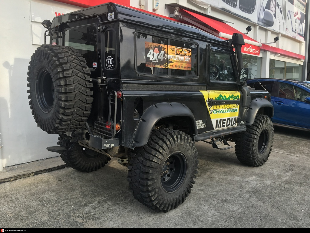 Buy Used Land Rover Defender 90 Car In Singapore85888 Search Challenge