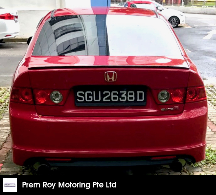 Buy Used Honda Accord Euro R 2 0 M Car In Singapore 19 900 Search