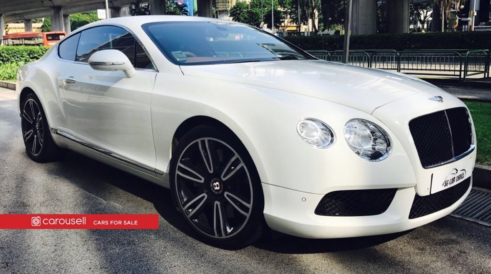 Buy Used Bentley Continental GT 4.0A V8 Car in Singapore@$398,800 ...