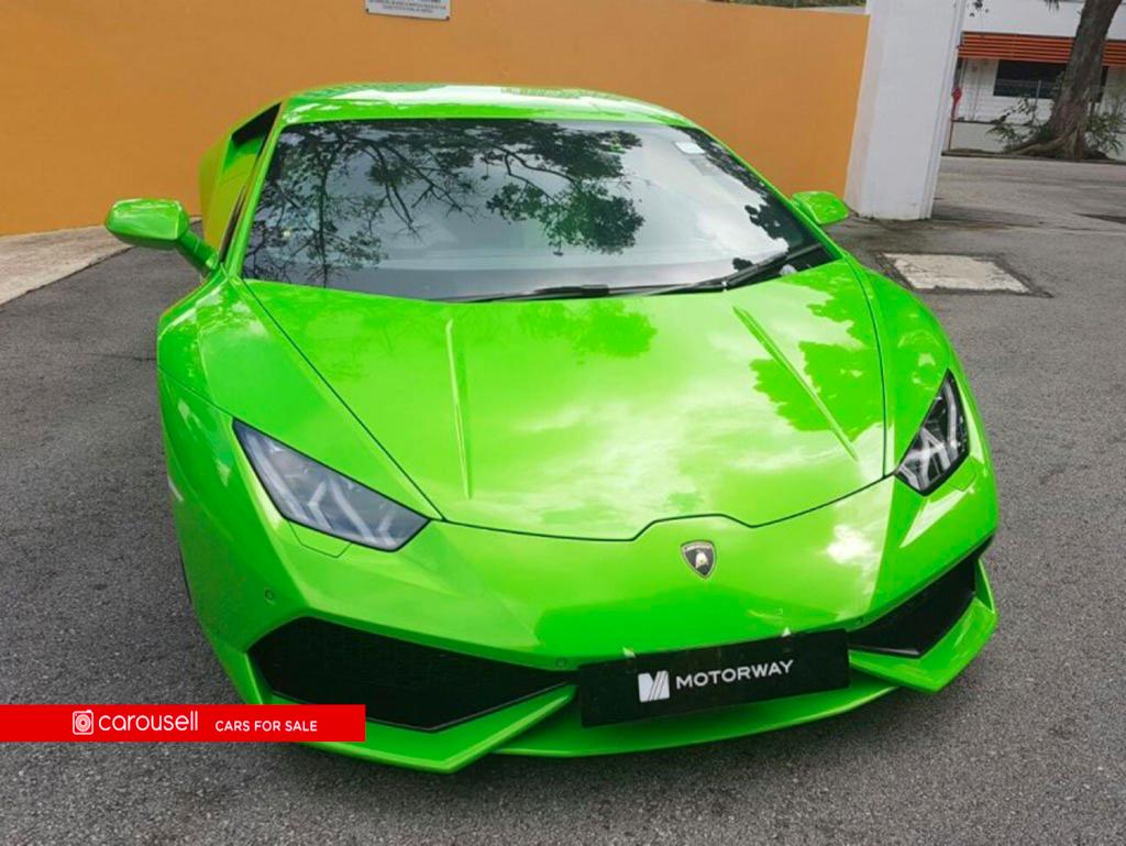 Buy Used Lamborghini Huracan Lp610 4 Car In Singapore 888 000