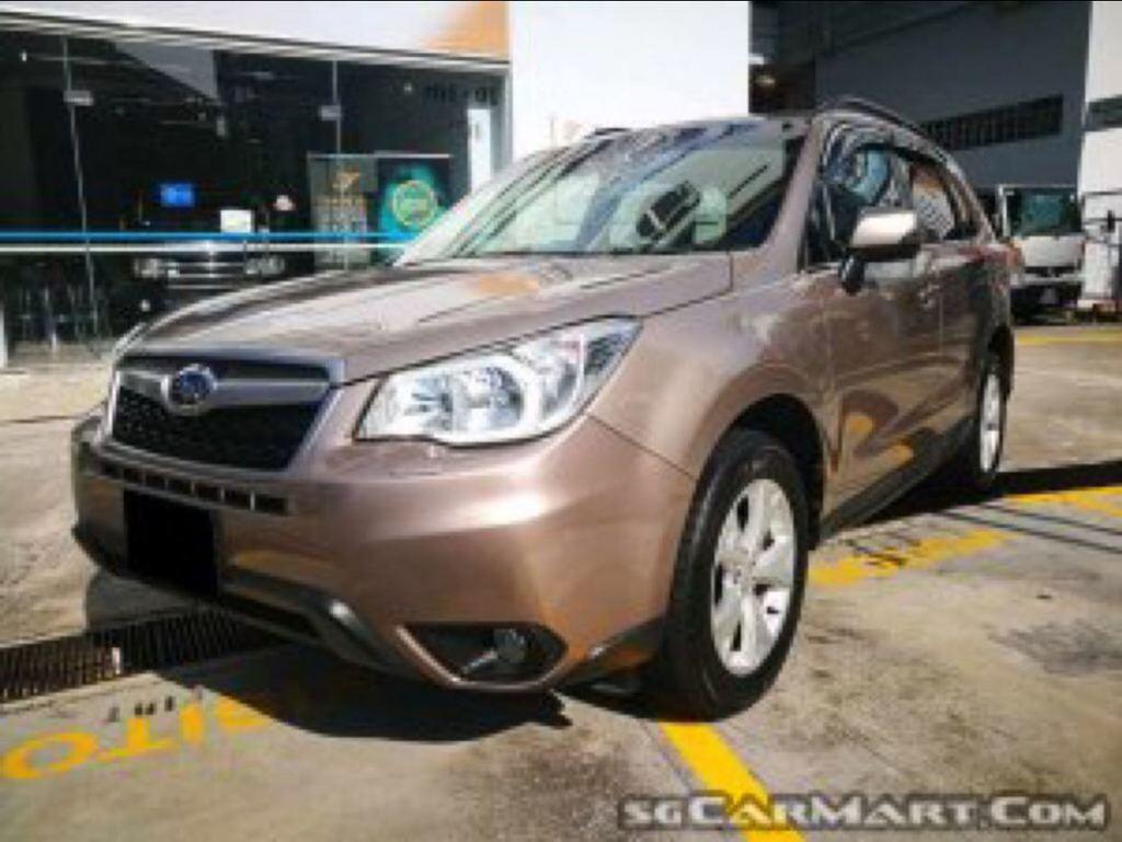 buy used subaru forester 2 0i l cvt awd sr car in singapore 95 800 rh caarly com
