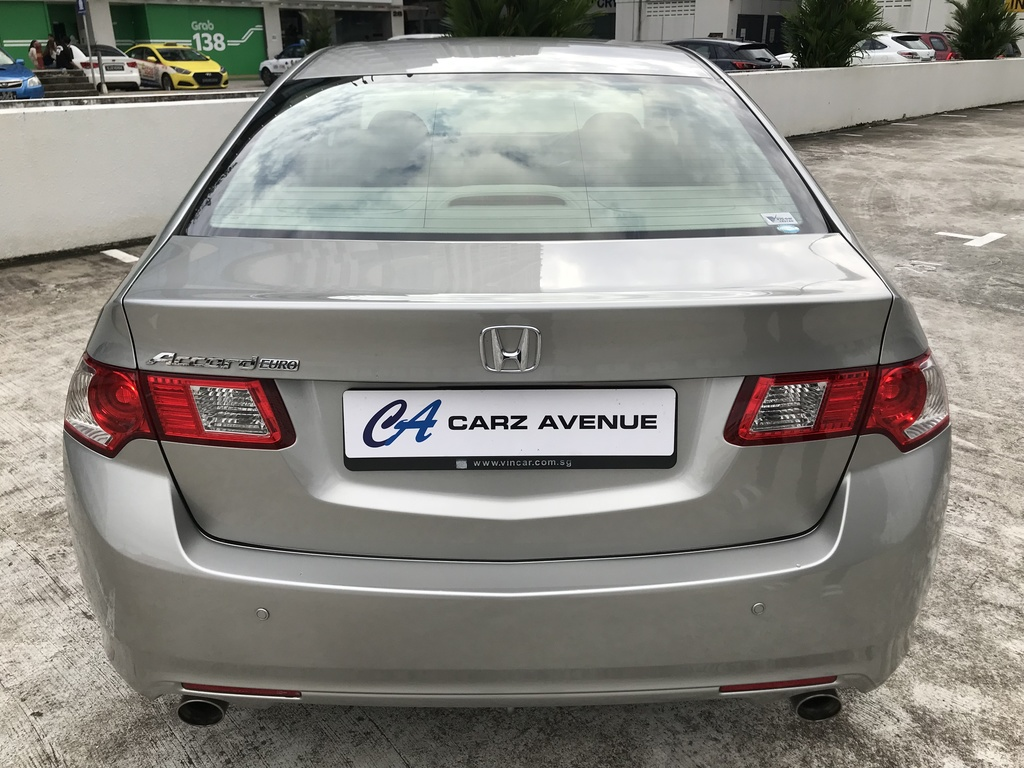 Buy Used Honda Accord Euro S 2 4 A Car In Singapore 31 800 Search