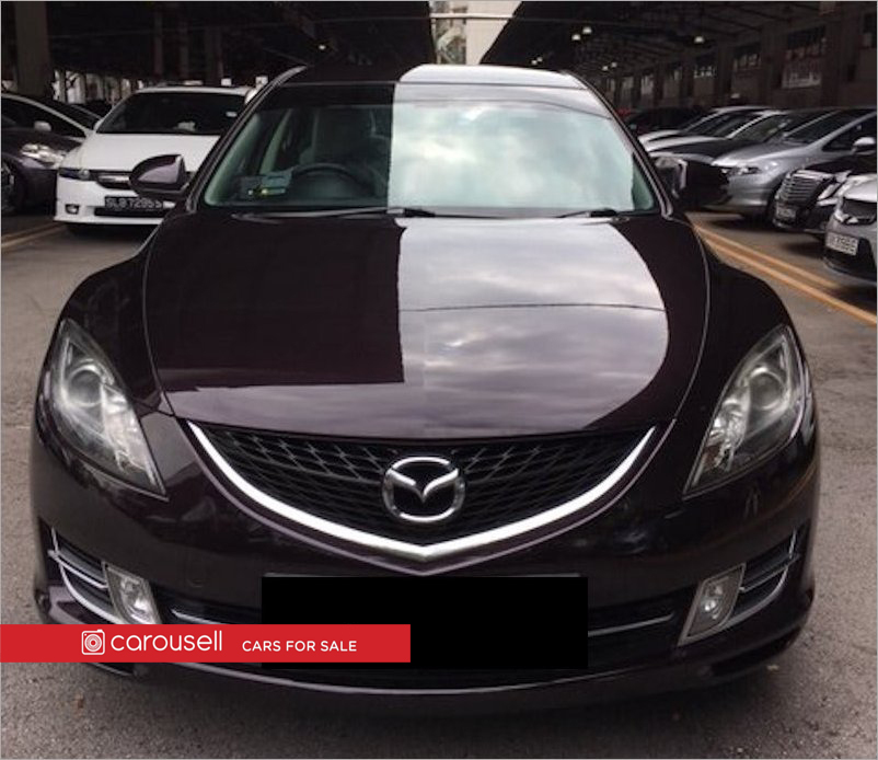 buy used mazda 6 2 0a v car in singapore 37 500 search used cars rh caarly com