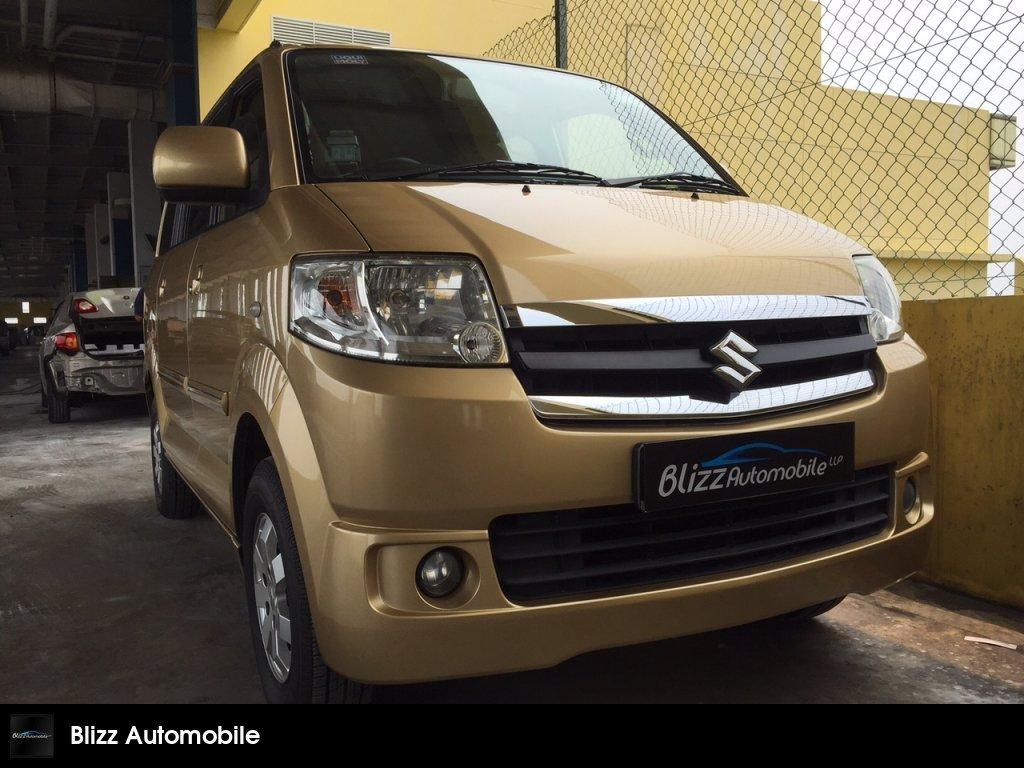 Buy Used SUZUKI APV 1 6 5-DOOR GLX AT ABS AIRBAG Car in
