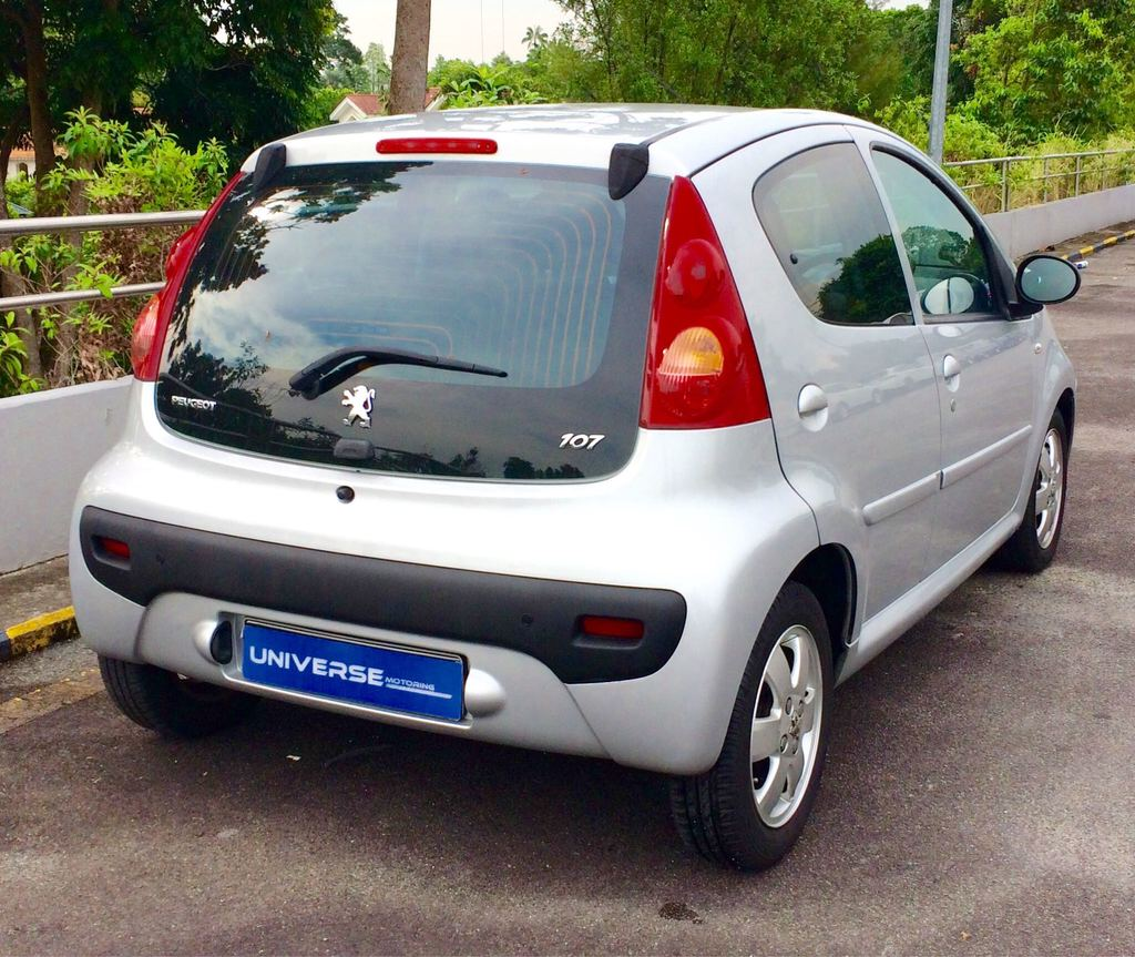 Buy Used PEUGEOT 107 1.0 2-TRONIC Car in Singapore@$29,800 - Search ...