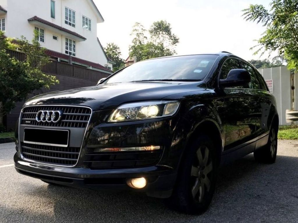 buy used audi q7 3 6 fsi qu 7 seater car in singapore 57 800 search used cars for sale in. Black Bedroom Furniture Sets. Home Design Ideas