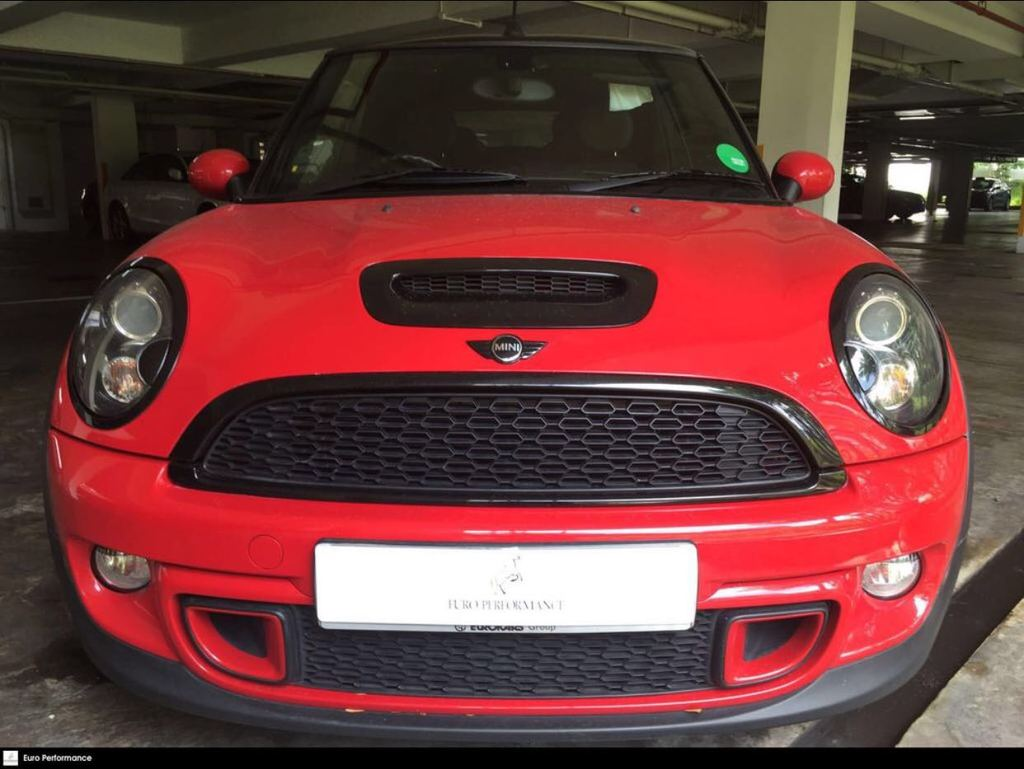 Buy Used Mini Cooper S Cabrio 16 At Hid Dab Abs Car In Singapore