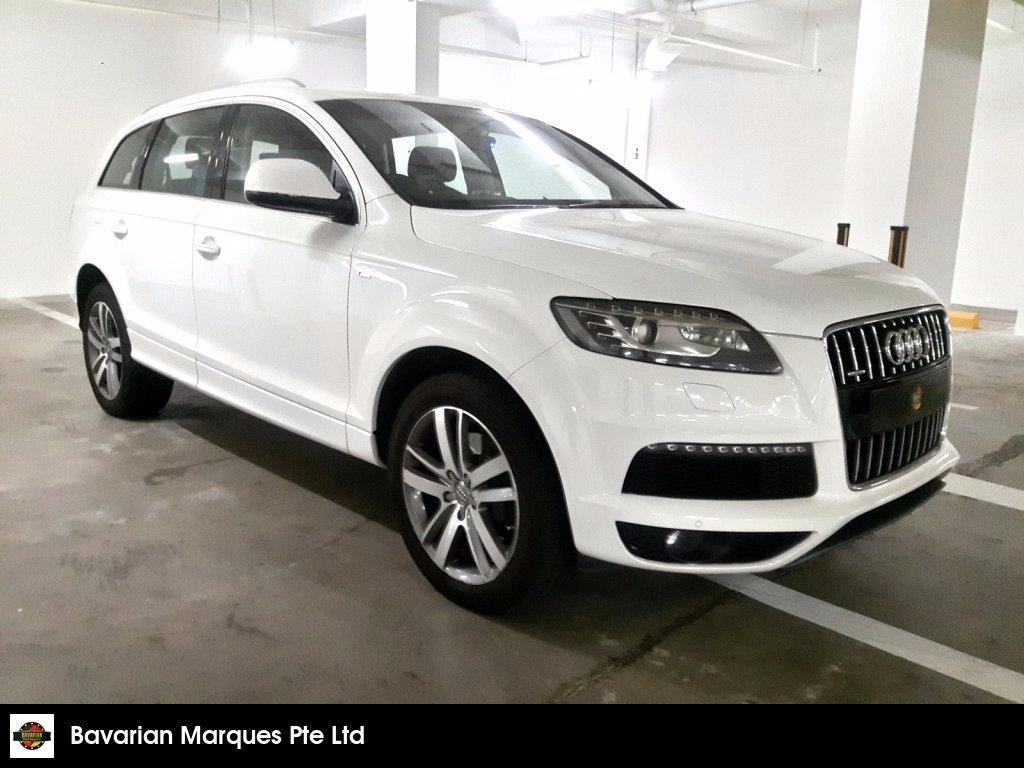Buy Used AUDI Q11 11.11 TFSI QU (21111 KW) Car in Singapore ... | audi q7 used cars