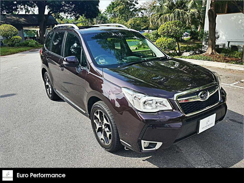buy used subaru forester 2 0xt awd cvt car in singapore 84 000 rh caarly com