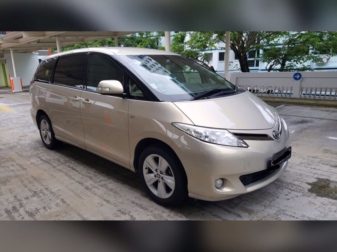Buy Used Toyota Previa 7 Seater Car In Singapore 80 800 Search