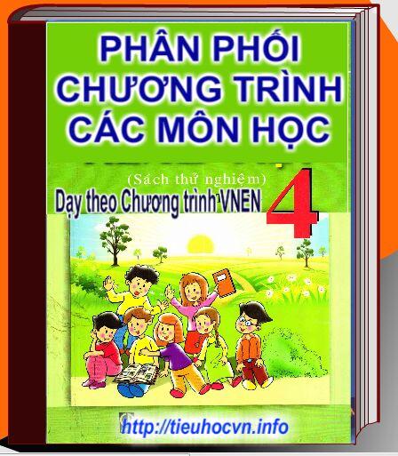 Phân phối Chương trình  Giảng dạy Lớp 4 theo VNEN | Fourth Grade Lesson Plans for All Subjects