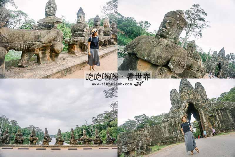 柬埔寨吳哥南門