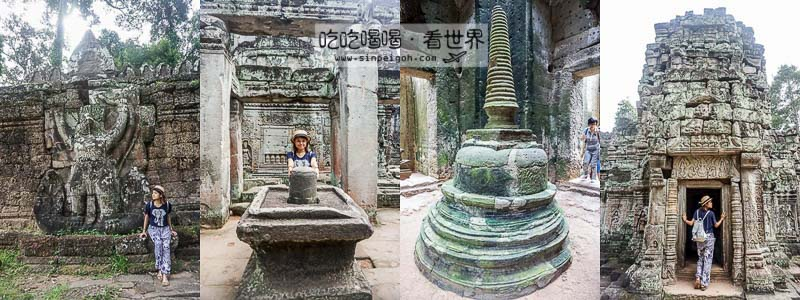 聖劍寺Preah Khan