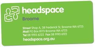 2.6 Headspace Kimberley