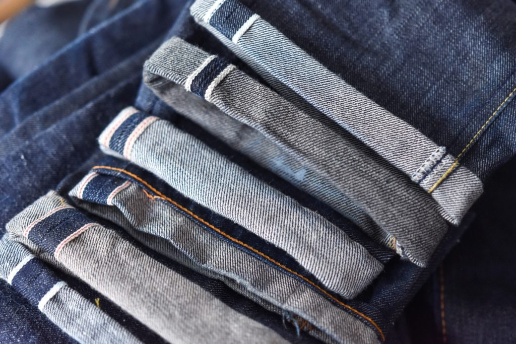 vải selvedge denim