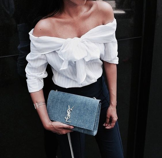 As an Off-the-shoulder Top