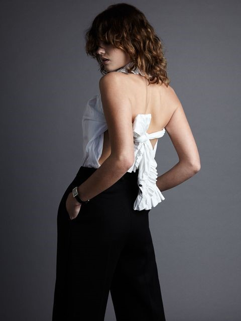 As a Backless Shirt