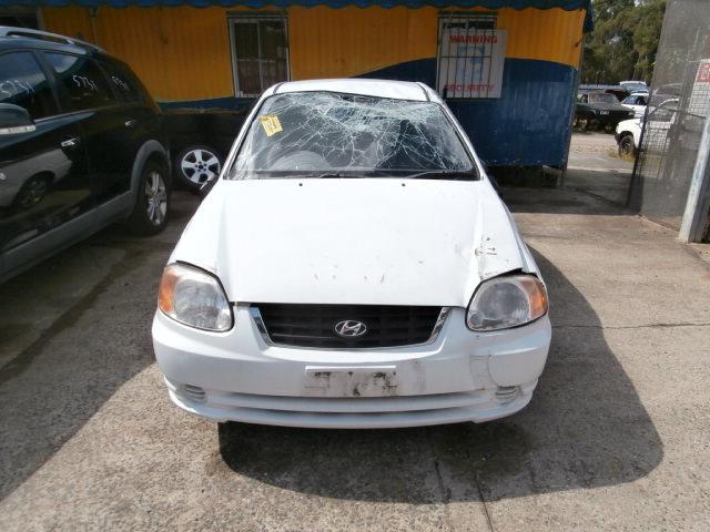 seatbelt/stalk hyundai accent 2003