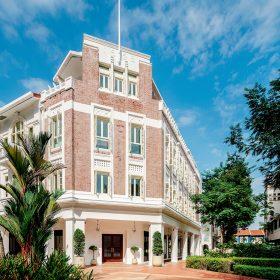 新加坡鬧市的麥士威六善酒店