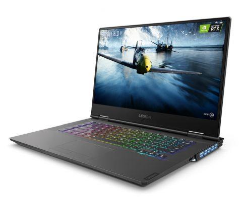 Lenovo的 LEGION產品,於外觀和內容上兼顧遊戲玩家的需要。圖為LEGION Y740筆記型電腦。