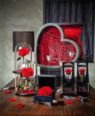 LE FIORI設計禮盒精緻,搶攻高檔市場。