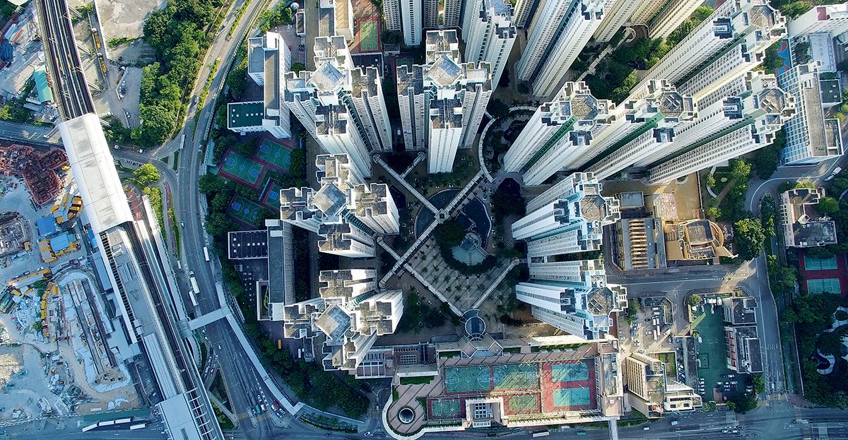 An aerial view of Hong Kong's northern district on June 21, 2016. Three of our major property developers have amassed a combined land bank in the New Territories of over 90 million square feet designated for agricultural use. According to their most recent annual reports, Henderson, Sun Hung Kai Properties and New World have acquired 44.5 million, 30 million and 18 million square feet respectively. (EyePress/Rocky Lee)
