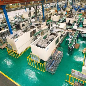 香港通用製造廠生產線已北移內地,實施自動化生產。