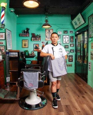 Ricky Au | Anchor Barbershop